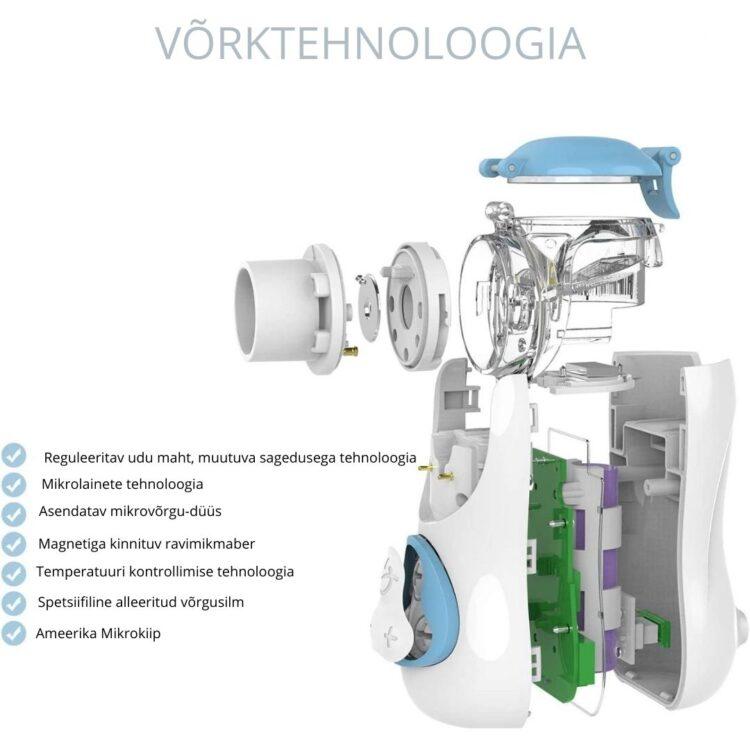 inhalaator juhtmevaba