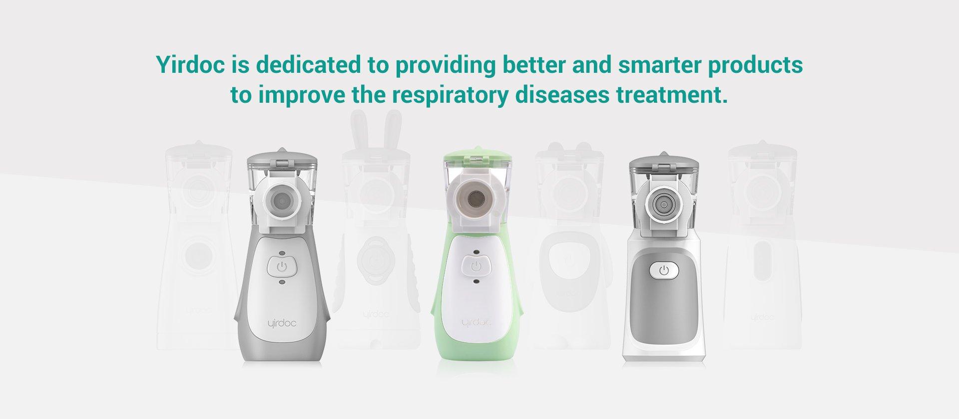 YIRDOC 002 ja 008- uus inhalaatorite tootja Eesti turul