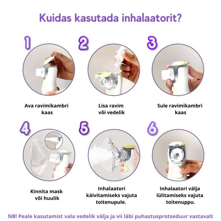 Kuidas kasutada inhalaatorit