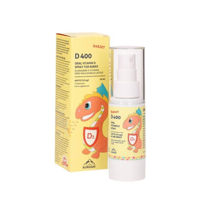 Nordaid D-vitamiin lastele
