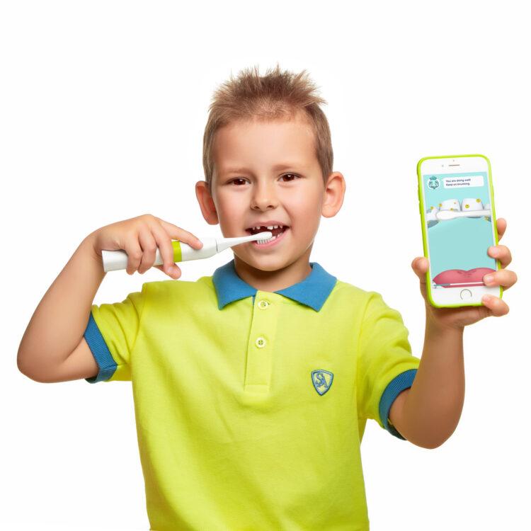 AGU brushy nutikas hambahari lastele