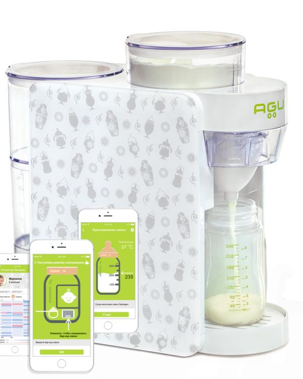 AGU Piimaseguvalmistaja Häppi Shaker